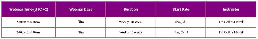 aligner UTC2 vc schedule-7