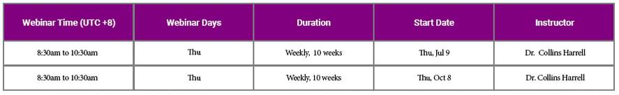 aligner UTC8 vc schedule-7